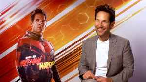 'Ant-Man And The Wasp': Exclusive Interview With Paul Rudd & Michael Douglas [Video]
