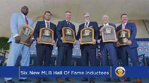 The Baseball Report: Baseball HOF Inducts Six Of Game's Greats [Video]