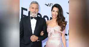 George Clooney and Amal Step Out for Stylish Dinner with Stella McCartney [Video]