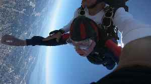 Fearless Man Goes Skydiving To Celebrate 100th Birthday [Video]