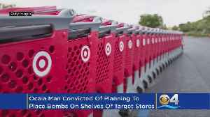 Man Faces 40 Years For Plotting Bombs At Target Stores [Video]