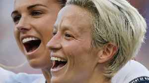 Megan Rapinoe Helps U.S. Women's Team Stay Undefeated In Tournament of Nations [Video]