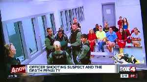 Death penalty could be on table for accused cop killer [Video]