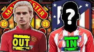 Have Atletico Madrid Confirmed Antoine Griezmann's Transfer To Manchester United?! [Video]