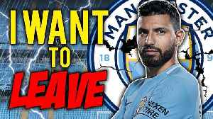 Does Sergio Aguero Want To Quit Manchester City?! [Video]