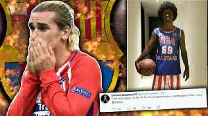 Has Antoine Griezmann DESTROYED His Chances Of £100M Barcelona Move?! [Video]