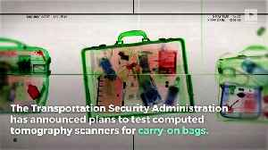 New TSA Scanners Could Let Liquids, Laptops Stay in Carry-On-Bags [Video]