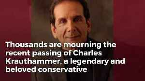 The Incredible Letter Charles Krauthammer Sent A Recently Paralyzed Man Shows What Kind Of Person He Was [Video]
