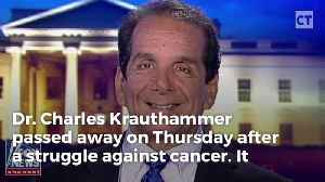Washington Post Under Fire For Sickening First Line Of Krauthammer's Obituary [Video]