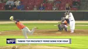 Tigers top prospect Franklin Perez done for the season [Video]
