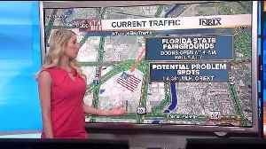 What roads to avoid during President Trump's visit to Tampa on Tuesday [Video]