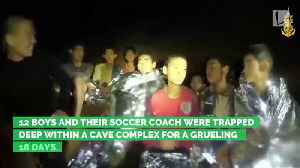 Thai Soccer Team Rescued from Cave [Video]