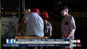 Preview of President Trump's visit to Tampa on Tuesday [Video]