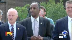 Affordable housing in need of innovation in Colorado as Carson tours site [Video]