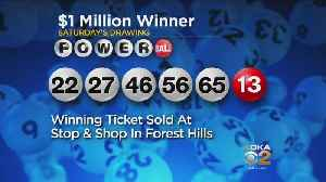 Winning Powerball Ticket Worth $1 Million Sold In Allegheny County [Video]