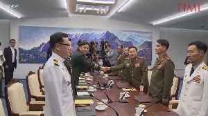 Generals From North and South Korea Meet in Effort to End Military Standoff [Video]