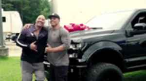 Dwayne 'The Rock' Johnson Brings Stunt Double To Tears After Gifting Him New Car [Video]