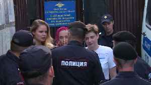 Russian Authorities Detain Members of Pussy Riot Again After Their Release from Jail [Video]