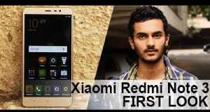 Xiaomi Redmi Note 3 First Look [Video]