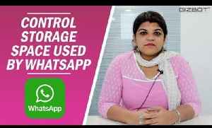 How to control storage space used by WhatsApp on Android [Video]