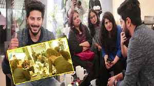 News video: Karwaan actor Dulquer Salmaan's Coffee Date with 20 girls; Watch Video | FilmiBeat