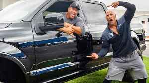 Dwayne 'The Rock' Johnson Surprises Stunt Double With New Truck [Video]