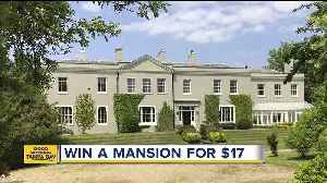 You could win this $8.2 million mansion for $17 [Video]