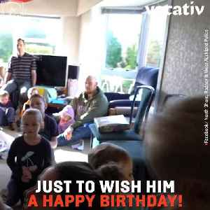An Enthusiastic Kid Called the Police To His Birthday Party and They Showed Up [Video]
