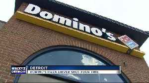 Domino's driver shot in head after delivering pizza in Midtown Detroit [Video]