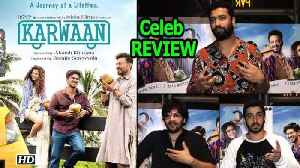 News video: Irrfan Khan-Dulquer Salmaan's 'Karwaan' | Celeb REVIEW