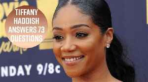 Tiffany Haddish's dream show would be in lingerie [Video]