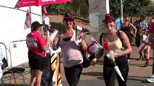 England fans arrive for Hockey World Cup quarter-final [Video]