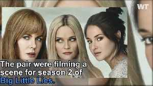 Reese Witherspoon Threw Ice Cream at Meryl Streep While Filming Big Little Lies [Video]