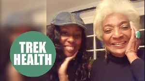 Star Trek actress Nichelle Nichols telling a close friend she never wants to stop working [Video]