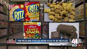 The problems forcing more food to be recalled [Video]