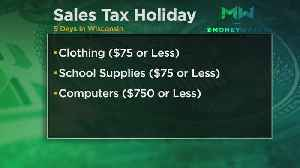 For Next 5 Days, Wisconsin Has Sales Tax Holiday [Video]