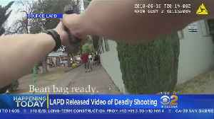 Family Of Woman Held Hostage To Sue In Deadly LAPD Shooting [Video]