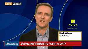 Aviva CEO on Earnings, Dividends, Growth Strategy [Video]