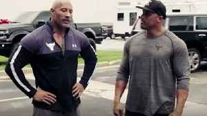 Dwayne 'The Rock' Johnson surprises stunt double with new pickup truck [Video]