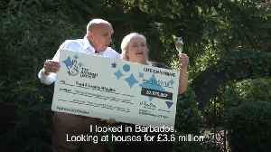 Retired couple scoop £57.9m EuroMillions jackpot after their ticket was ripped up [Video]