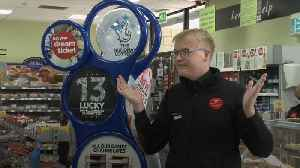 Shop assistant recalls moment he ripped £58m lottery ticket in two [Video]