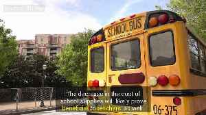 School Supply Cost Drops Across Country [Video]