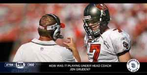 What's it like to play for Jon Gruden? [Video]