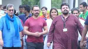 Aamir Khan Launch 8th edition of 5th Veda Session Whistling Woods International [Video]