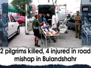 2 pilgrims killed, 4 injured in road mishap in Bulandshahr [Video]