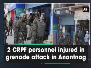 2 CRPF personnel injured in grenade attack in Anantnag [Video]