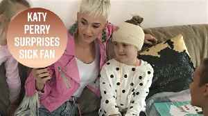 Katy Perry gives private concert to sick fan [Video]