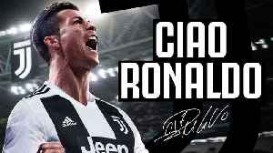 News video: OFFICIAL: Cristiano Ronaldo Signs For Juventus For £105m | Internet Reacts