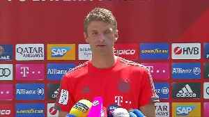 Germany's Thomas Mueller says he does not see racism problem in team [Video]