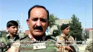 Suicide bomb attack on Afghan Shi'ite mosque kills scores [Video]